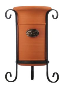 Terracotta Wine Cooler on Stand (Medium)