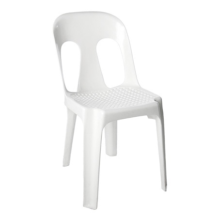 A White Pipee Chair (Web Seat) (VIP)