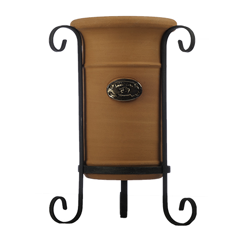 Terracotta Wine Cooler on Stand