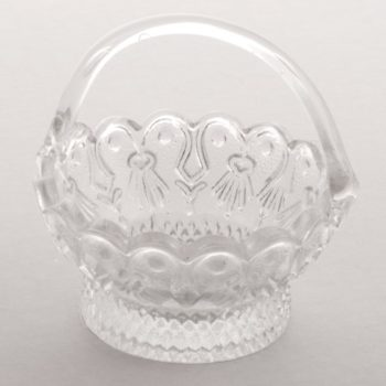 Glass Trinket Basket (Small)