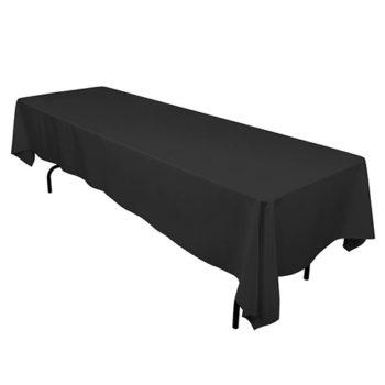 TableClothBlack140x275Trestle