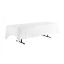 Tablecloth white 140x275