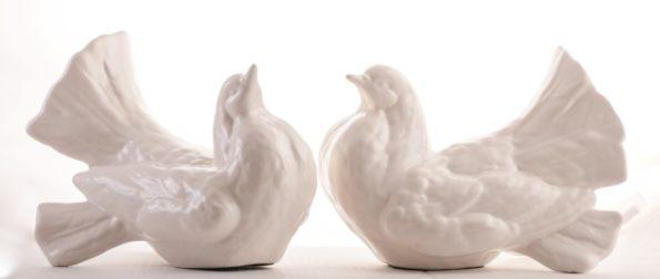 Doves – Set of 2