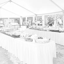 Outdoor Marquee Function