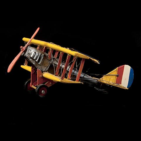 Tin Toy Decoration – Vintage Plane